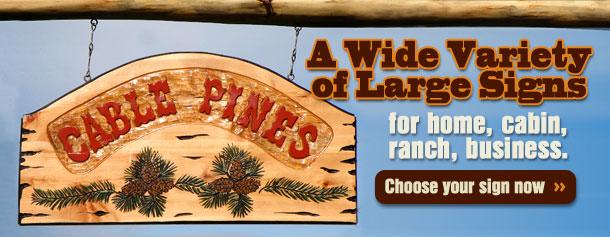 Custom Carved Wooden Camper Sign
